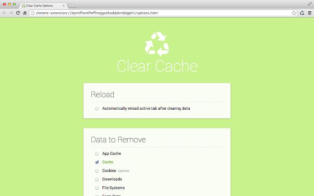 clear cache print