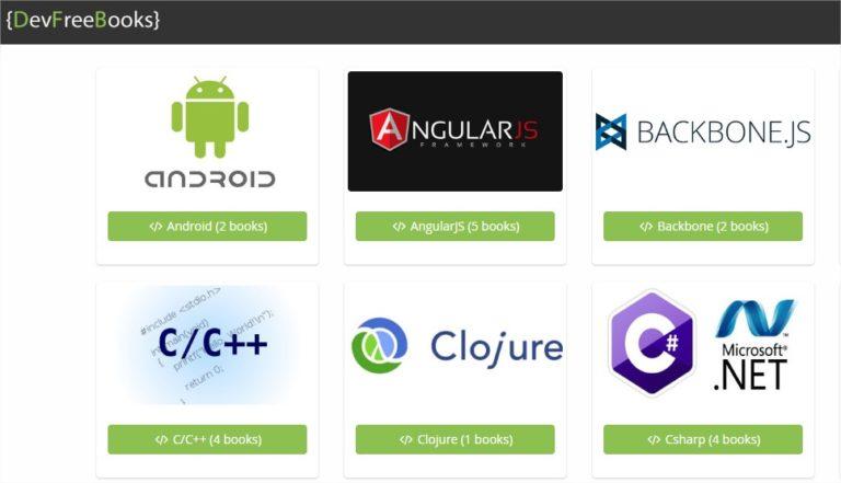 recursos gratuitos para desenvolvedores